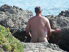 Секс на гръцки плаж-b