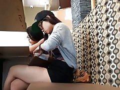 2 сладък азиатски тийнейджъри